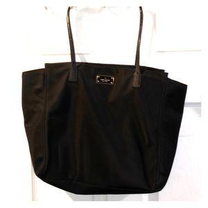 Authentic Kate Spade ♠️ Black Nylon Tote Bag